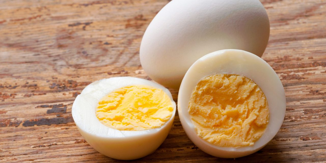 What does Overcooked Hard Boiled Eggs Look Like?
