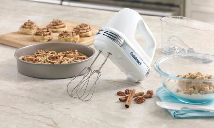 Cuisinart HM-90S Power Advantage Plus 9-Speed Handheld Mixer With Storage Case Review