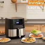 Innsky Air Fryer 5.8QT, 1700W Air Fryer Review