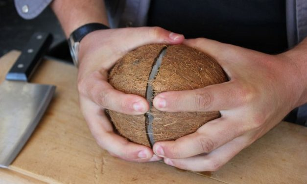 Kitchen Hacks: How to Open a Coconut