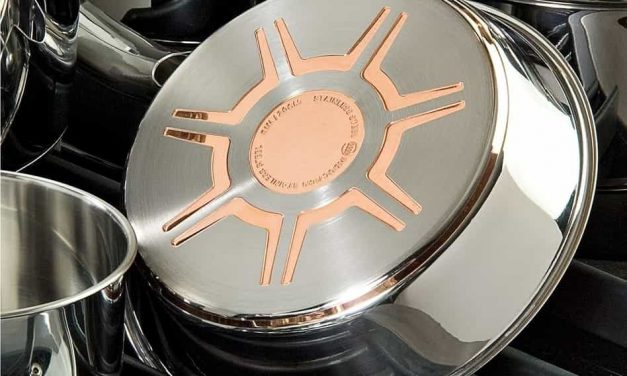 T-fal C836SA Ultimate Stainless Steel Copper-Bottom Heavy Gauge Multi-Layer Base Cookware Set Review
